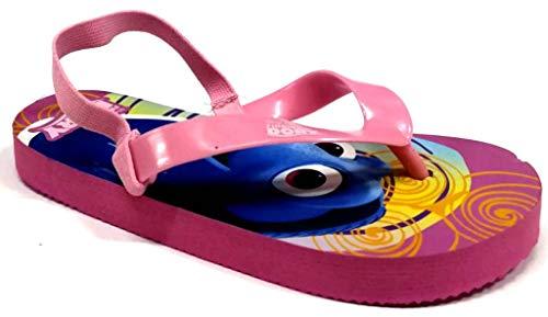 Disney PESCIOLINO Nemo Infradito Bambino MOD. S17117 Dory Pink, Pink - Rosa - Größe: 27 EU