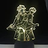 Personaje Animado Regali Unici Della Mamma Amore Romantico 3D Luce Notturna A Led Lampada Da Tavolo Con Cambio Di Colore Home Decor Lampada Da Comodino A 16 Colores
