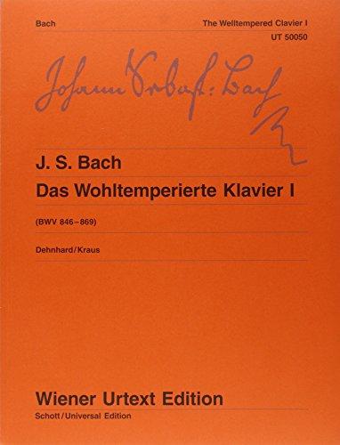 Das Wohltemperierte Klavier: Nach dem Autograf und Abschriften. Teil I und II kplt.. Klavier. (Wiener Urtext Edition)