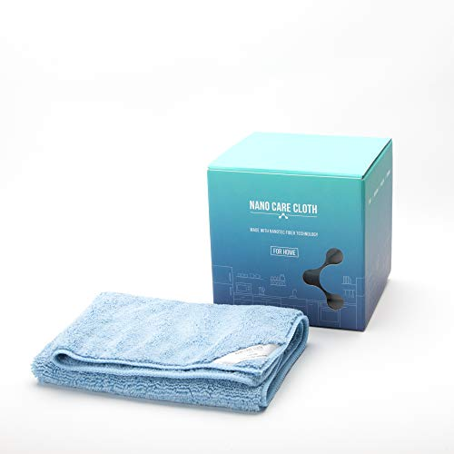 NanoCare Nano Towels (4 towels) Amazing Eco Fabric That Cleans Virtually Any Surface With Only Water. No More Paper Towels Save Money, Clean Faster, Easier Antibacterial Microfibre Cleaning