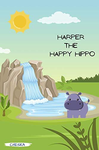 Harper the Happy Hippo (English Edition)