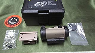 TAN色、SOTAC製M4,MP5,AAP01.G17,3GUNS電動ガン用刻印入り、AIMPOINTタイプドットサイドです。LARUE,ARMS
