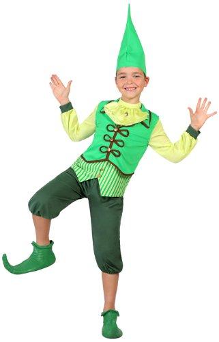 Atosa-23685 Disfraz Duende, color verde, 7 a 9 años (23685)