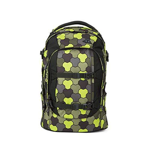 Satch pack Schulrucksack - ergonomisch, 30 Liter, Organisationstalent - Jungle Flow - Grün