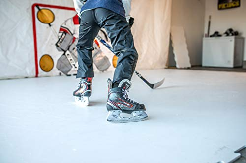 Snipers Edge Synthetic Ice (32 SQ Ft Per Pack), Self-Lubricating Tiles for Skating Anywhere with The Markets Most Cutting Edge Artificial Ice – Safe for Garage, Basement, Driveways & More