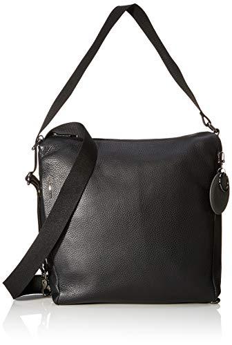 Mandarina Duck dames Mellow Leather Tracolla/Nero schoudertas, 0,01 x 0,01 x 0,01 centimeter