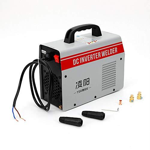ZX7-250 Mini soldador eléctrico 250 A 220 V portátil pantalla digital MIG, para operaciones en gran altura, operaciones de campo, decoración interior, mantenimiento