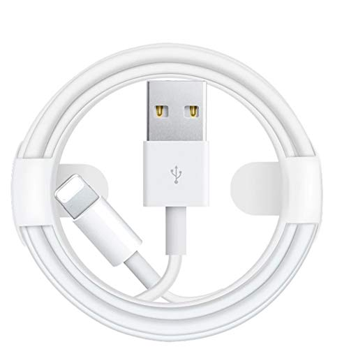 Lsooyys Cable cargador Lightning para iPhone 12 12Pro 12Pro Max 11 X Xr 8 7 6S Se 5 5S iPad 100 cm