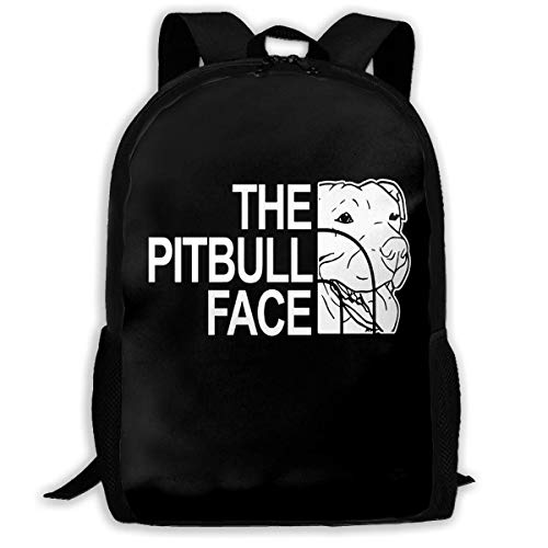 sghshsgh Mochilas Tipo Casual Backpack for Men Women Funny Pitbull Backpacks Hiking Laptop Backpack Travel Large Shoulder Bags for School Shopping Outdoor Sports