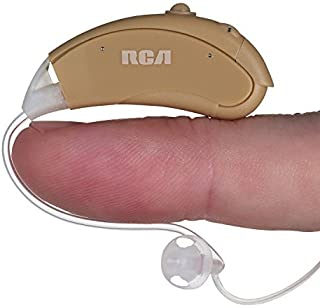 Hearing Amplifier with Batteries for Adults, Seniors and Children - RCA Symphonix Digital Personal Sound Amplifier, Hearing Device and Aid for Listening, with All Accessories for Both Ears (2 Pack)