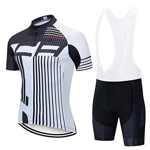 Hplights Traje De Ciclismo para Hombre De Equipos Culotte Y Maillot con...