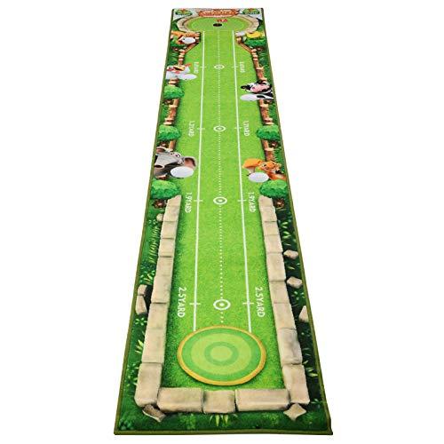Kinder Golf Training Putter Pad Marking Übungsmatte Schlag Pad Teppich Swing Trainer Kinder Typ