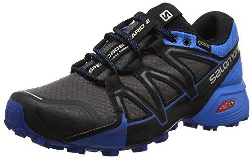 Salomon Speedcross Vario 2 GTX Calzado de Trail Running, Hombre, Gris (Magnet/Indigo...