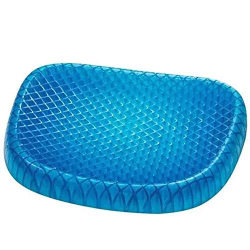 Gel cushion, blue magic cushion gel dual design cushion zero gravity cushion high repulsion breathable body pressure dispersion posture correction beautiful bottom comfortable chair cushion car office