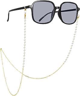 Catena per occhiali Occhiali in metallo Catena per collo Cordino per occhiali Supporto per tracolla per occhiali da sole C...