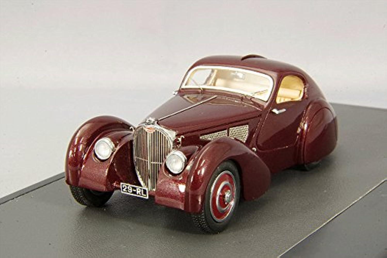 marca en liquidación de venta Bugatti Tipo 51 DUBOS Coupé, rojo oscuro, RHD, 1931 1931 1931 , modelo coche, PREPARADO, Matriz 1 43  mas preferencial
