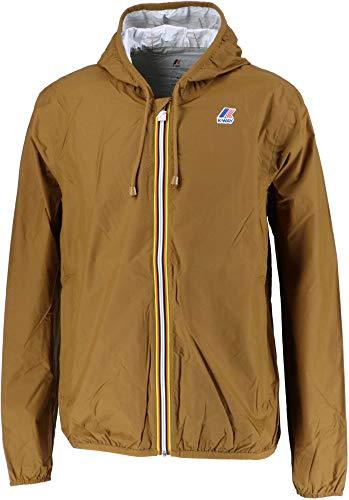 [ケーウェイ] アウトドア ジャケット カッパ JACQUES PLUS 耐水 フード付き K000F80 メンズ Brown Cinnamon EU L (日本サイズL相当)