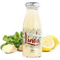 Linda - Refrescos 100% Naturales (Limonada + Jengibre, 12 unidades)
