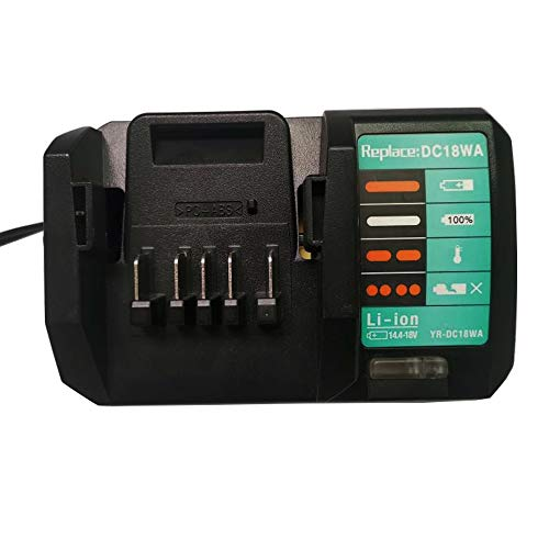 DC18WA Replacement Charger for MaKita 14.4V-18V Li-ion Batteries Compatible with Makita 18v G-Series Battery BL1813G BL1815G BL1811G BL1830G BL1413G BL1411G