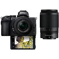 Nikon Z50 20.9MP 4K Ultra HD Mirrorless Digital Camera with 16-50mm & 50-250mm Lens