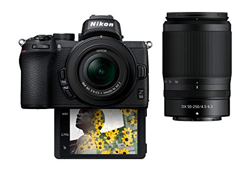 Nikon Z50 Compact Mirrorless Digital Camera with...