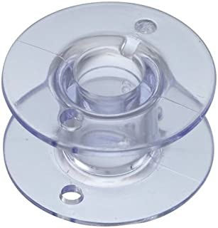 NGOSEW 10 Plastic Bobbins for Viking Emerald 116 118 122 183 Sewing Machines