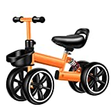 Kids Balance Bike Kesida Children Walking Training Scooter Bicycle Without Pedal Footrest for 2 to 6 Years Old Kids and Toddlers (Yellow)