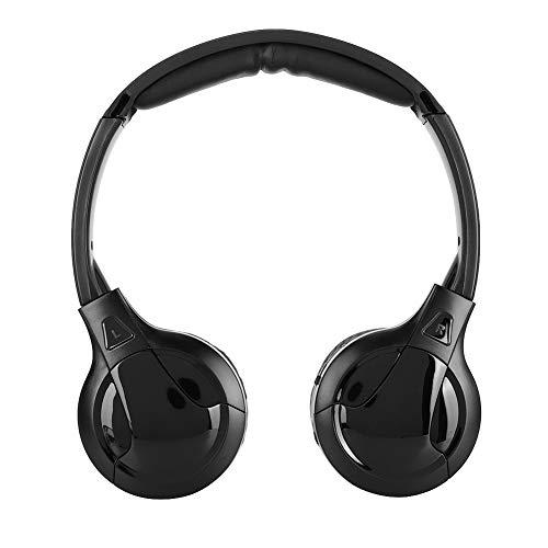 Infrarot Auto Kopfhörer, Infrarot Kopfhörer, Ergonomische Auto Power Mute Auto Elektronischer Kopfhörer für DVD Auto