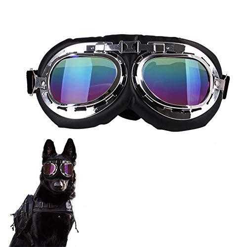 Corkcrd hond bril zonnebril Pet Folding winddichte winter winddichte zonnebril slee hondenveiligheidsbril, B