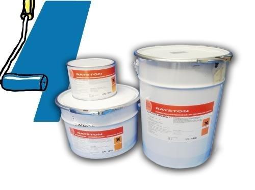 Impermax flüssige Teichfolie Blau (Ral5015) 2,5kg -25 kg, Inhalt:2.5 kg
