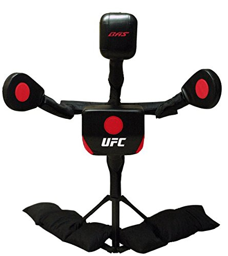 BAS UFC Body Action System Deluxe - Professional Freestanding Home Training Equipment System for MMA, Kickboxing, Muay Thai and Martial Arts - Adjustable Punching and Kicking Pads