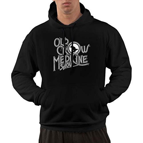 KAYLRR Men\'s Old Crow Medicine Show Fashion Graphic Einbauküche Kapuzenshirt