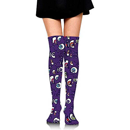 Jesse Tobias Calcetines hasta la rodilla I 'M Watching You Long Socks Boot Stocking Calcetines de compresión para mujer