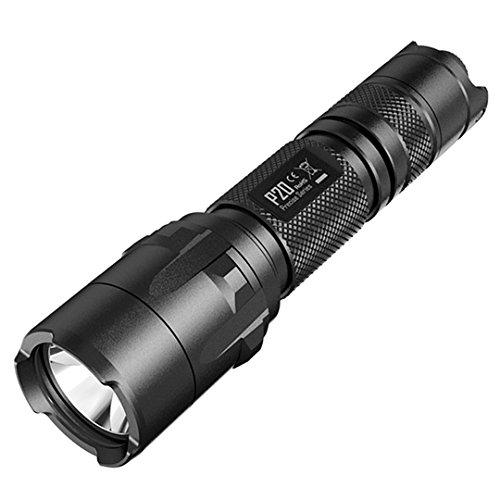 Nitecore P20 Tactical Strobe Ready 800 Lumens LED Flashlight, Black