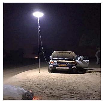 ErYao LED Camping Lantern - Telescopic COB Rod Camp Lamp LED Desert Prairie Camp Light for Hiking Patio BBQ Grill Waterproof Tent Lamp Fishing Lights Beach Travel Light  Multicolor