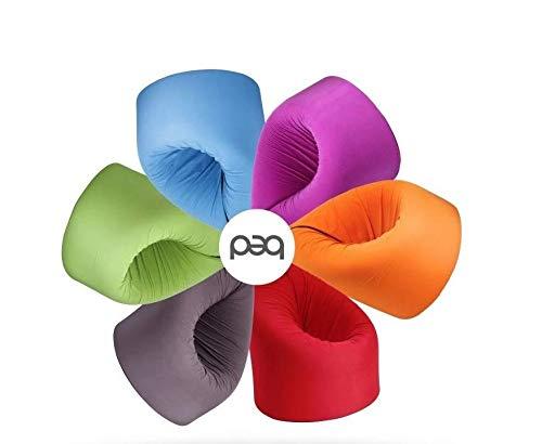 Paq Bed multifunctionele zitzak/matras vers. Kleuren (mint)