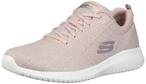 Skechers Damen Ultra Flex Trainers, Pink (Light Pink Ltpk), 3 UK (36 EU)