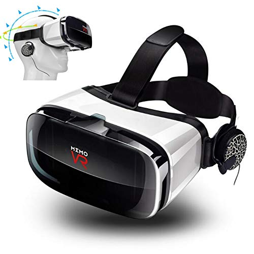 Sale!! ILYO Virtual Reality Headset, 3D Vr Glasses Focal Length and Pitch Adjustment HD PMMA Lens 10...