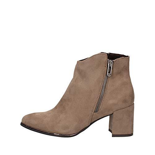 MARCO TOZZI Damen 2-2-25015-25 Stiefelette Mode-Stiefel, Taupe, 39 EU