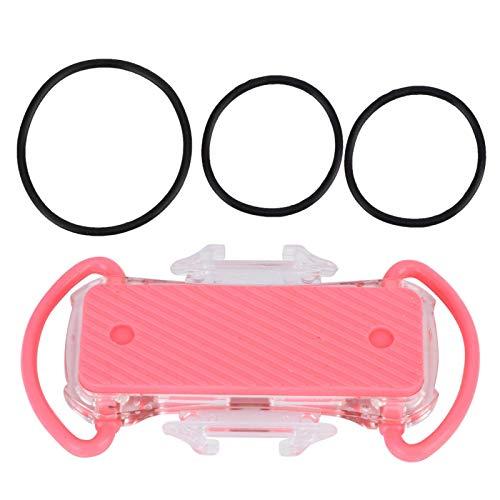 Emoshayoga Soporte de navegación Soporte para teléfono móvil Manillar Bicicleta Soporte fácil de Usar y Quitar para Acampar y Viajar en el Campo(Pink)