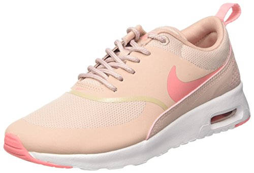 Nike Women's Air Max Thea Gymnastics Shoes, Pink (Pink Oxford/Bright Melon/White), 3UK