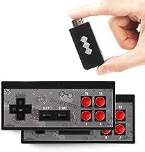 QUMOX Console de Jeu vidéo Y2 4K HDMI/Pro intégrée 568 Jeux Classiques Mini Console rétro contrôleur sans Fil Sortie HDMI ...