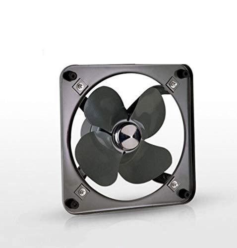 GHGJU Ventilador Ventilador Extractor de Cocina Potente Extractor de Metal Cuadrado Extractor Industrial Puede Utilizarse en baños de Cocina y Ventiladores de Garaje