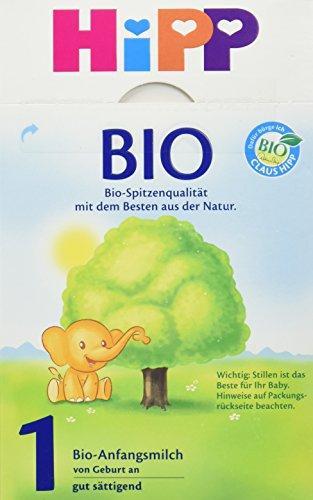 Hipp Bio 1 Anfangsmilch von Geburt an, 600g