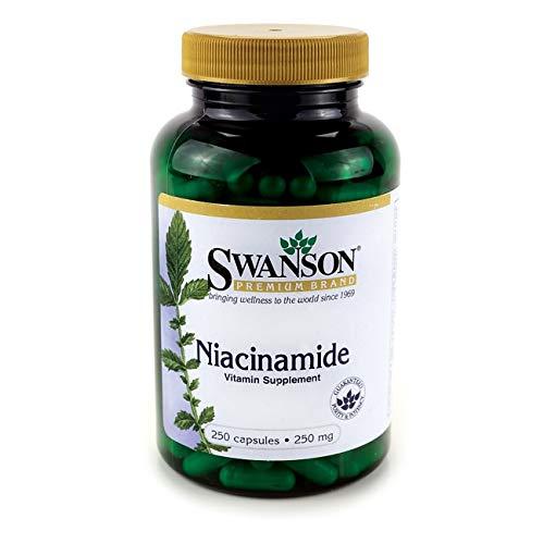 Swanson Niacinamide 250 Milligrams 250 Capsules