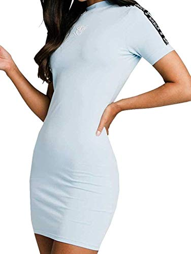 Sik Silk - Vestido Sky Tape Bodycon Dress SSW-1642 - Vestido para Mujer (S)