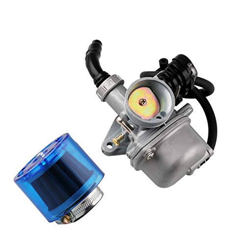 ben-gi 2pcs / Set de la Motocicleta del Motor Carburador Aire de reemplazo de Filtro para 50cc 70cc 90cc 110cc 125cc