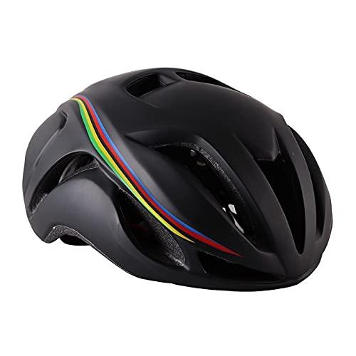 Peakfeng Casco de Bicicletas, Carreras de Carreras Casco de Bicicleta Aero Triatlón Tiempo de Prueba Bicicleta Helmet Protector Hat Casco Ciclismo MTB Casco de Ciclismo de Seguridad Unisex