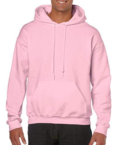 Gildan Heavy Blend Sudadera con Capucha, Pink (Light Pink 000), L para Hombre