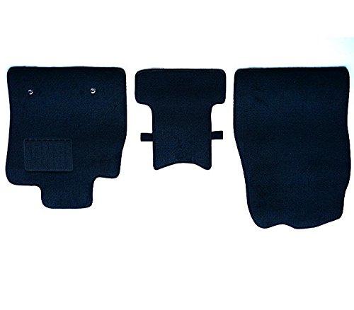 トヨタ アルファード ヴェルファイア 10系 15系 専用 フロアマット カーマット ※フロントマットのみ3枚 黒...